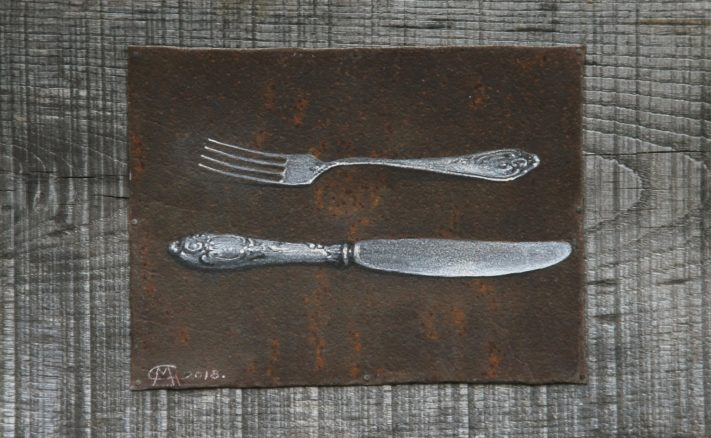 Gocha Kakabadze - A Knife and a Fork
