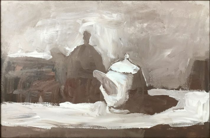 Still-Life-With-Teapot-oil-on-canvas-40x60-cm