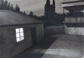 Village-Charcoal-on-paper-70x100