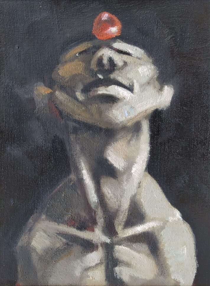 Vaxo Musxeli From the series Conotation - 30 x 22 cm. oil on cardboard