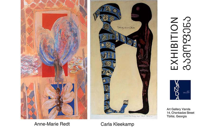 Exhibition of Clara Kleekamp and Anne-Marie Redt